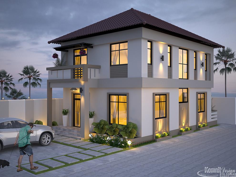 Villa-EP14 VH-1004 Houses Komnit Rachna khmer in phnom penh cambodia