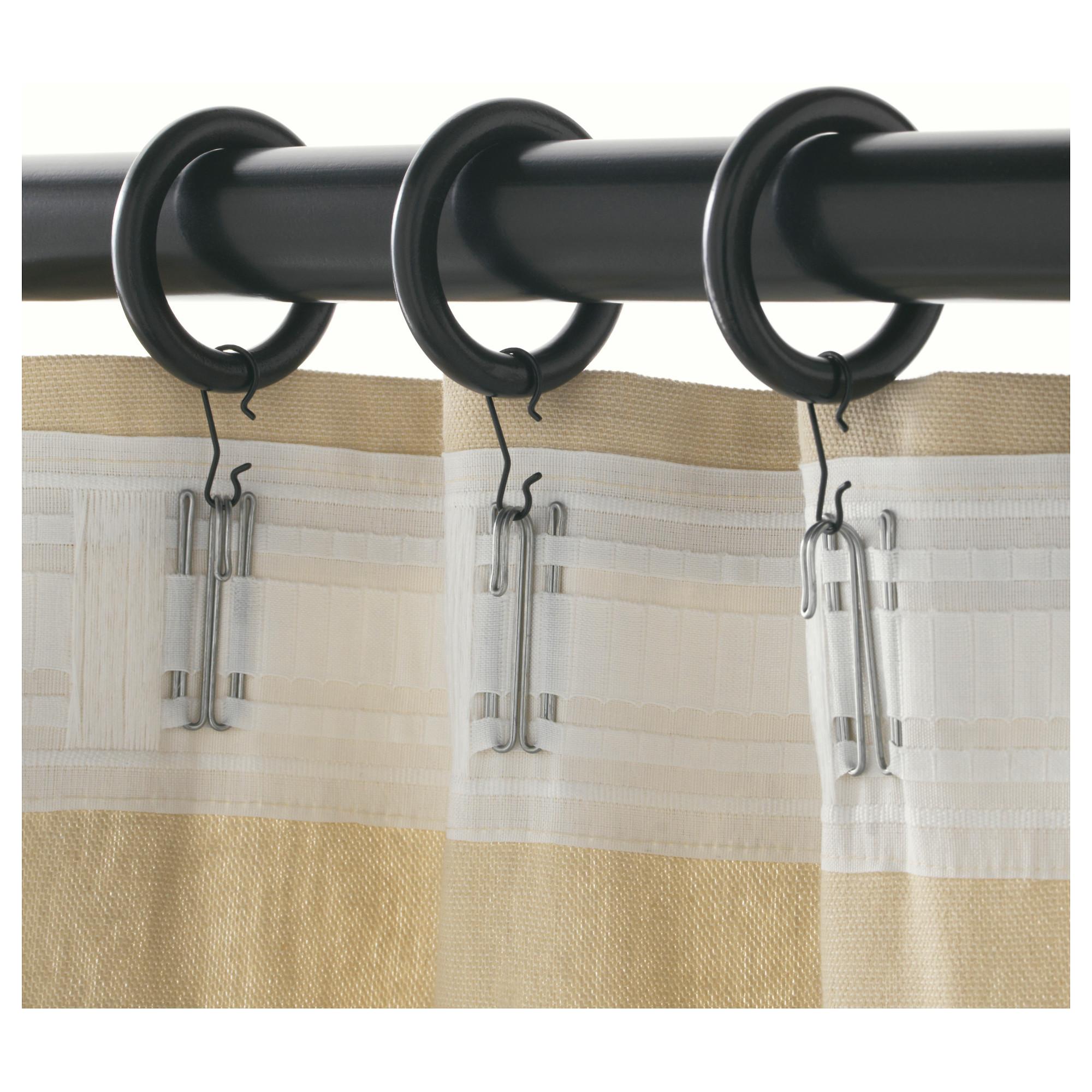 Poang Ikea Curtain Rods Rails Komnit Store